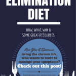 Ask Juls - Elimination Diet What, How & Why?   Spoonie Holistic Health Coach itsjustabadday.com juliecerrone.com