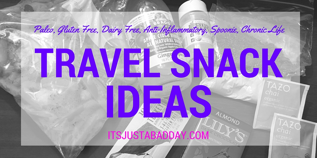 #ChronicLife Traveling Snack Ideas
