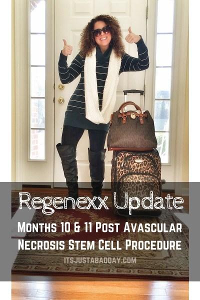 Regenexx Update Months 10 & 11 | avascular necrosis _ osteonecrosis stem cell procedure