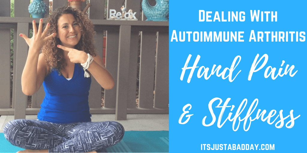 Exercises For Autoimmune Arthritis Hand Pain & Stiffness
