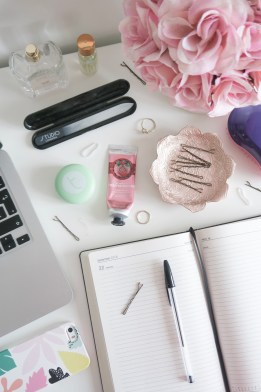 My Work From Home Beauty Desk Essentials