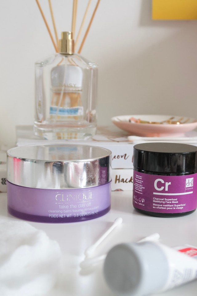 Clinique Take The Day Off Balm Dr Botanicals Charcoal Superfood Mattifying Face Mask