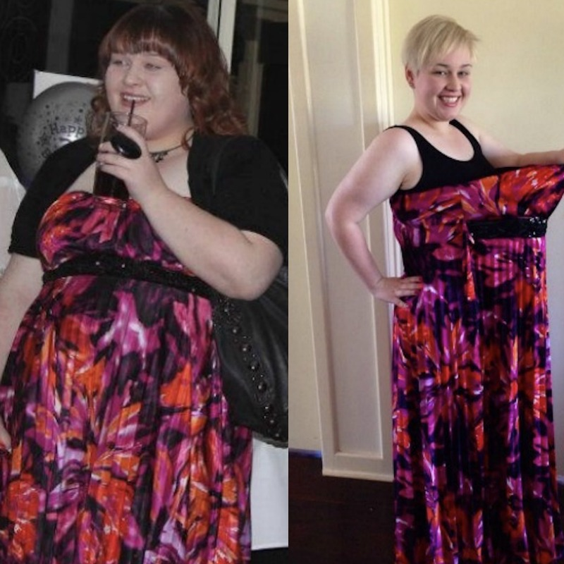 real weight loss success Chantelle