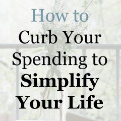 7 Practical Solutions to Living a Simpler Frugal Life