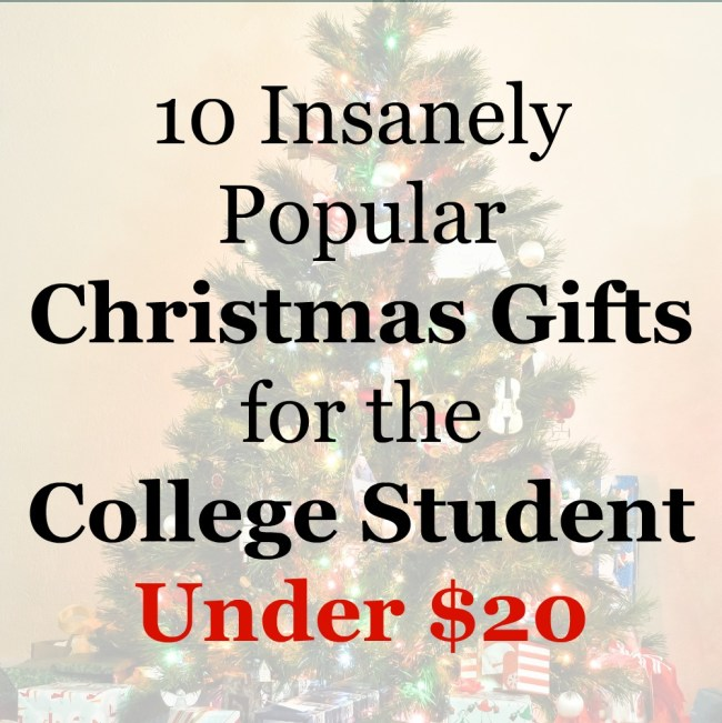 10 insanely popular christmas gifts for the college student