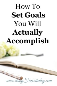 So many GREAT points in this. Setting actionable goals is key to taking charge of your life, wow this is so true. Really shows you the importance of setting goals and how to set goals you will actually accomplish. Pinning this to read again!