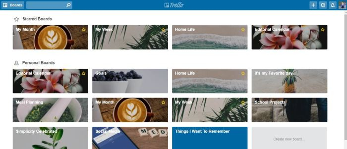 simplify, organize entire life with Trello