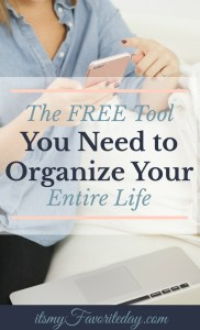 I was totally skeptical, but when I started using this unbelievable FREE tool I couldn't believe how easy it was to finally get my life organized.  Honestly, nothing is better than taking control of your time. You want to click and save this one!