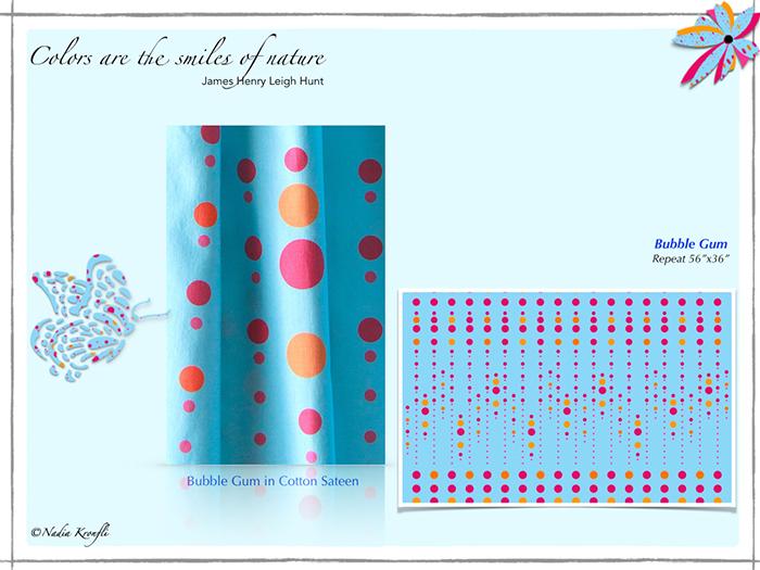Nadia-Kronfli-Bubble gum-collage