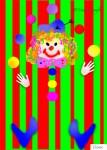 Nadia Kronfli, Clown, Children's Party, Invitation