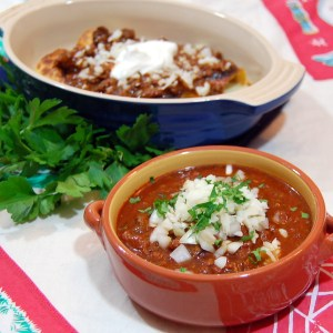 Texas Chili Means NO BEANS