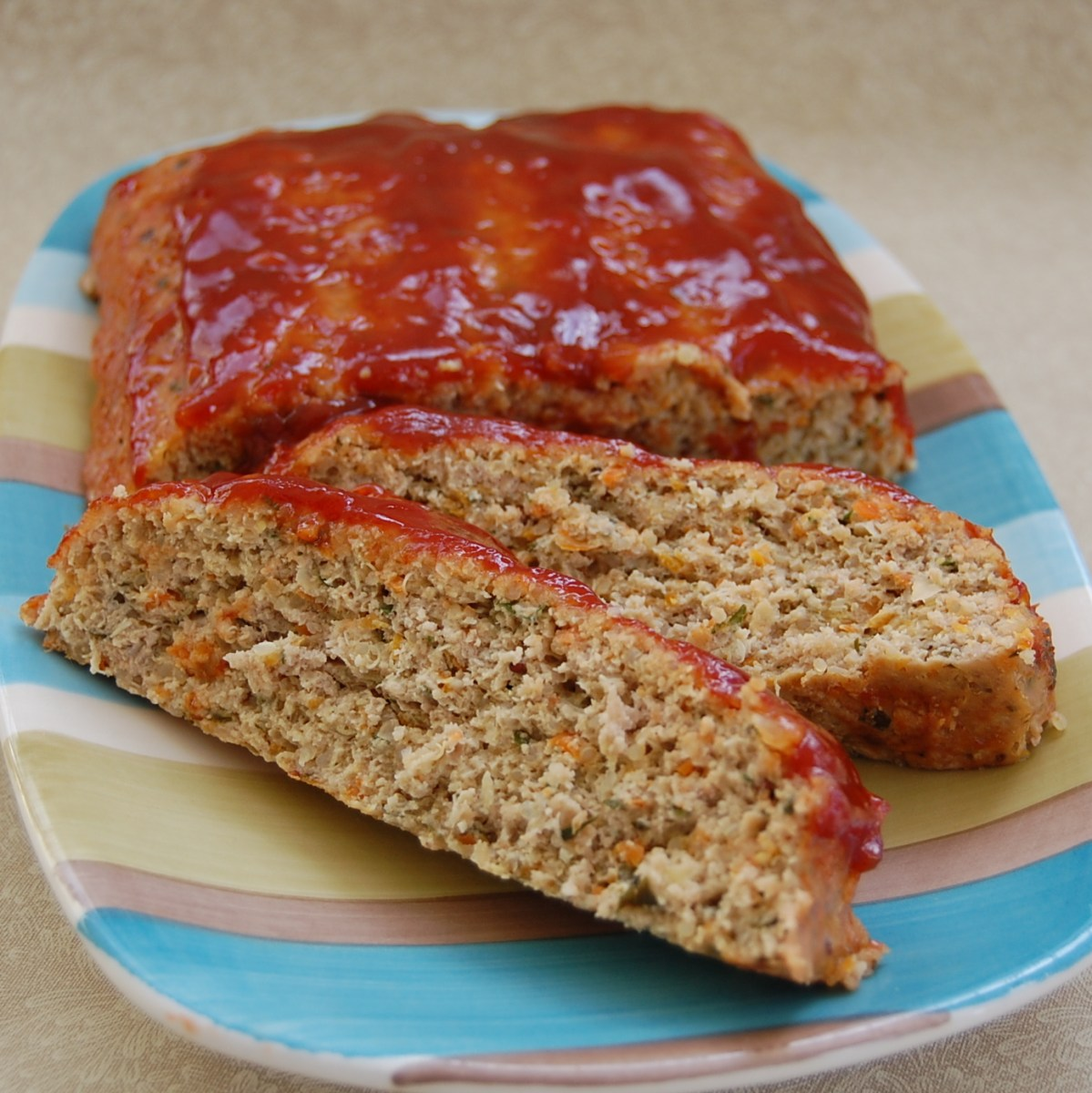 Quinoa Turkey Meatloaf (Gluten-Free)
