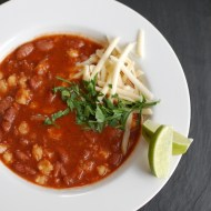 Red Bean and Hominy Chili