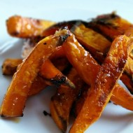 Honey Garlic Squash Fries