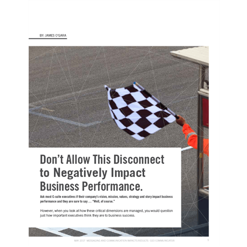 Don't Allow This Disconnect to Negatively Impact Business Performance.