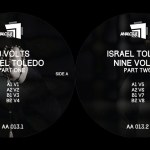 Israel Toledo - 9 Volts LP - ANALOGUE AUDIO, AA013.2 - itsoundsfuture.com
