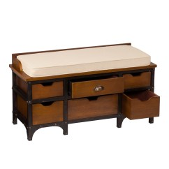 Kitchen Drawer Organization Ideas Hood Reviews Rustic Industrial Storage Bench Cushioned Drawers Wood ...