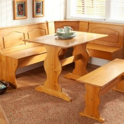 Kitchen Table And Chairs Set With Booth Barber For Sale Breakfast Nook Dining Country
