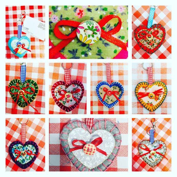 Heart keyring kit 3