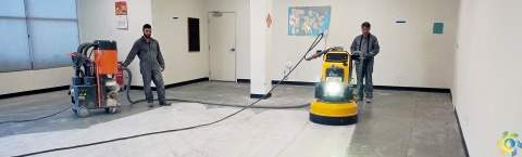Leader in Polished Concrete Floor