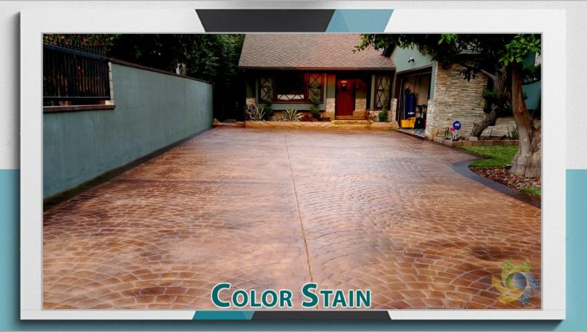 Concrete Color Stain