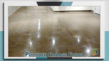 Polished Garage Floor