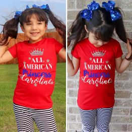 all american shirt, 4th of july shirt, 4th of july outfit, 4th of july t-shirt, 4th of july girls shirt