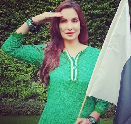 Mrs  Pakistan Muskan Jay in Pakistan Independence Day - Its South Asian