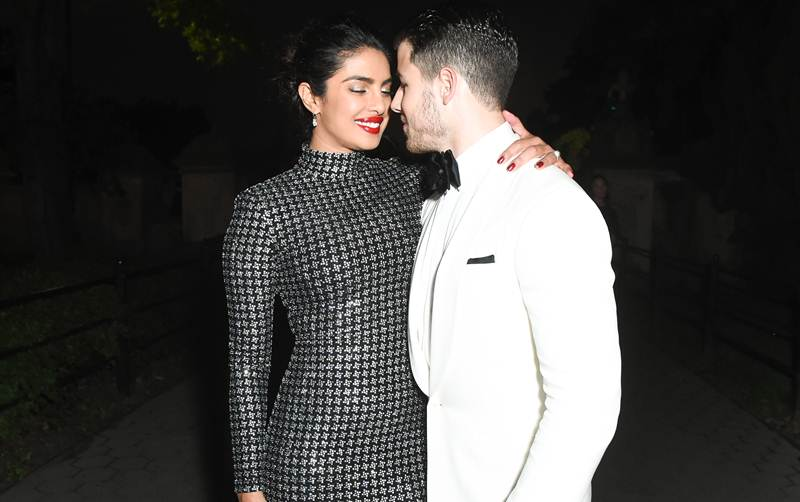 Nick Jonas and Priyanka Chopra looking lovely!