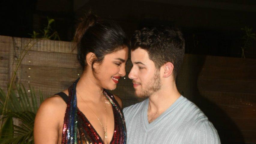 Bumble app launch party - Priyanka Chopra and Nick Jonas