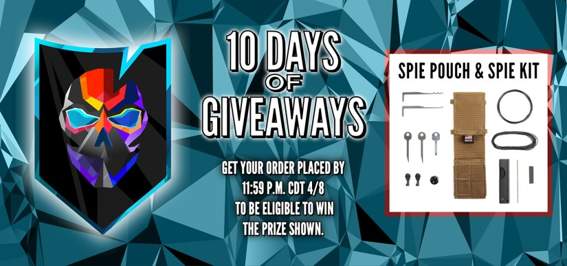 10 Days of Giveaways Day 6