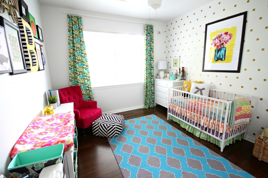 Colorful Eclectic Nursery  TaylorMade