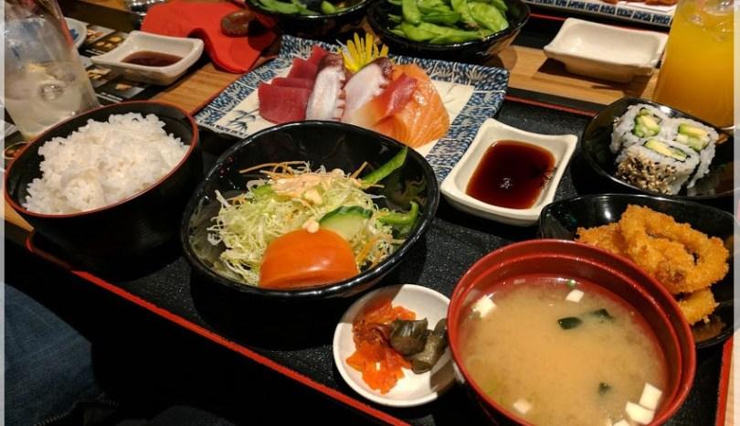 exploring Southampton: tasty sushi at Sakura