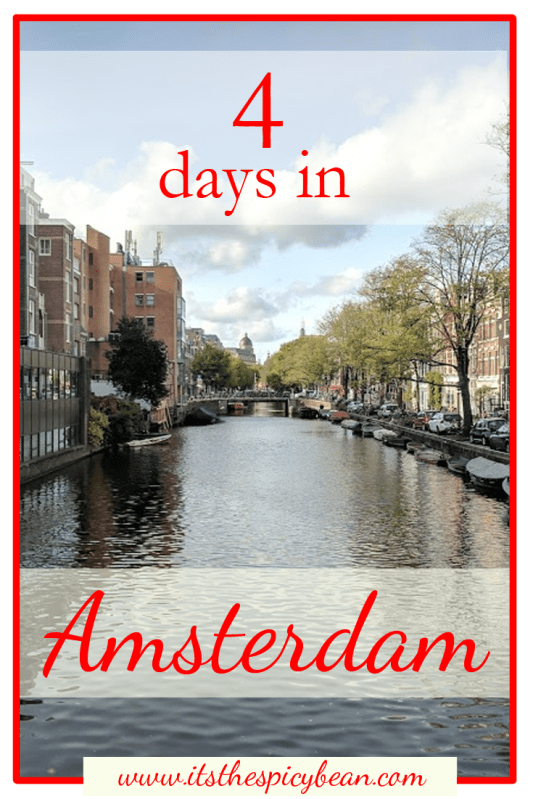 4 days in amsterdam