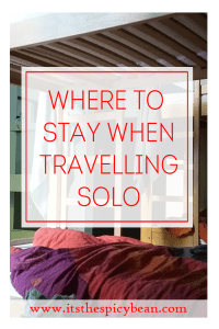 where to stay when travelling solo