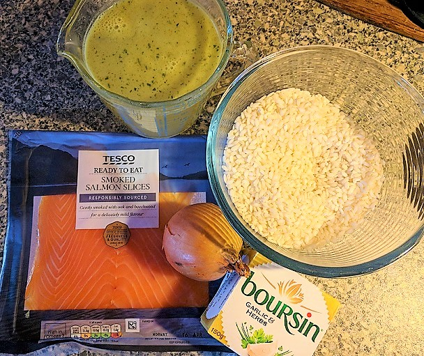 the spicy bean - deceptively simple salmon risotto recipe - www.itsthespicybean.com