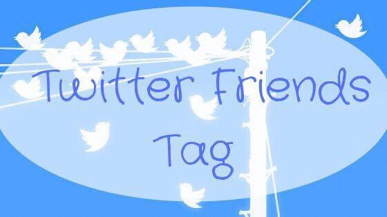 Blogtober Day 14: Twitter Friends Tag