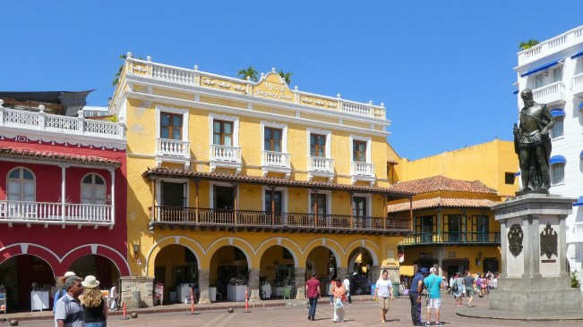 Cartagena-Colombia-Cheap places to travel in december