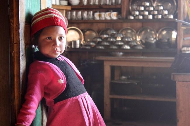 Nepal child - Trekking in Nepal