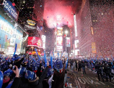 Here are America's Best Cities for New Years Eve