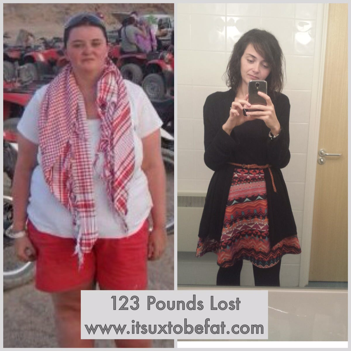 weight loss success story laura before after photo