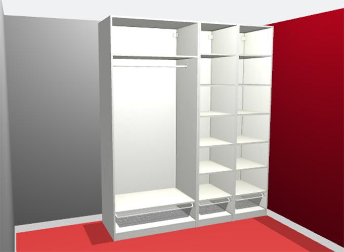 onze nieuwe pax kledingkast van ikea. Black Bedroom Furniture Sets. Home Design Ideas