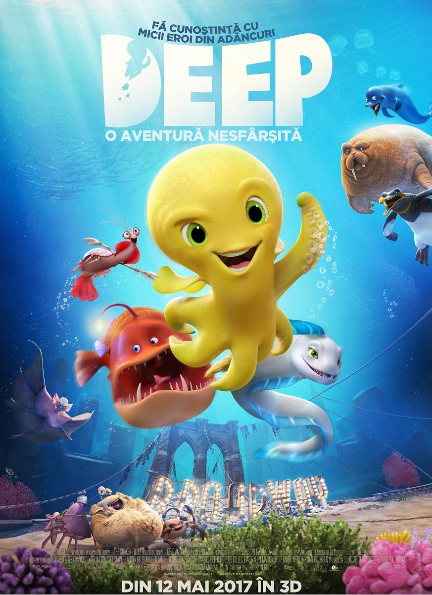 "Deep: O aventura nesfarsita ""inunda"" cinematografele din 12 mai"