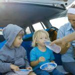 Alimentatia copilului cand plecam in vacanta