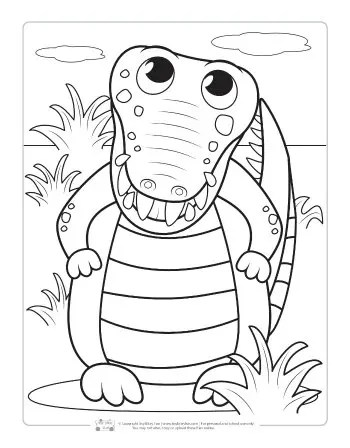 jungle coloring page # 77