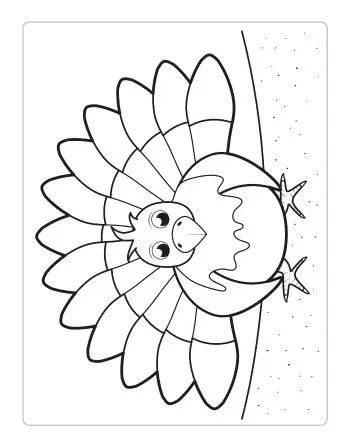 Thanksgiving Coloring Pages Itsybitsyfun Com