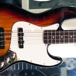 A $67 Glarry Jazz Bass ready for fretless conversion therapy!