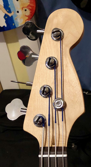 This headstock lacks your name! Make Phat Jaco yours!