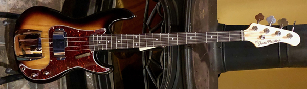 This James Jamerson Funk Machine replica bass -- JJ's FunkMachine by IYG -- channels all the soulful goodness of classic Motown!