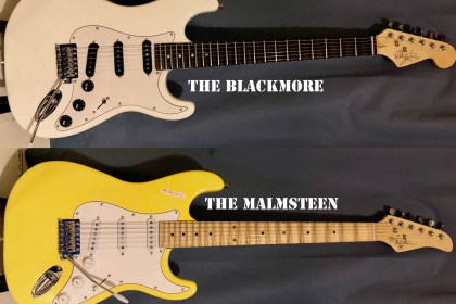 Blackmore and Malmsteen road-ready replica guitars